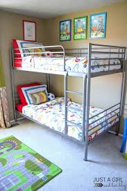 The Cs IKEA Big Boy Room Reveal Just A Girl And Her Blog - Ikea bunk bed reviews