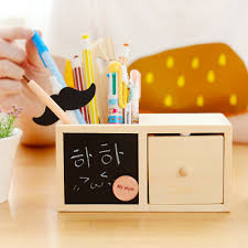 Pencil Holders For Desks Aliexpress Com Buy Korean Multifuncitonal Desktop Pencil Holders