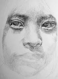 pencil portrait tutorial by george max