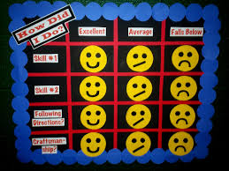 art with mr e practicum students rubric bulletin boards