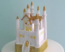 castle cake topper castle cake topper etsy