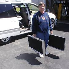 6 u0027 portable folding mobility loading ramp for van stair curb ebay