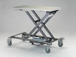 used electric lift table veterinary stretchers mobile lift tables