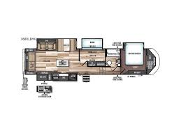 Salem Rv Floor Plans by 2018 Forest River Rv Salem Hemisphere Lite 368rlbhk W Boylston
