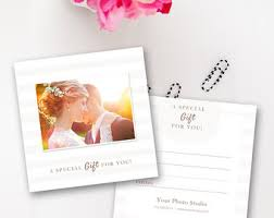 photography gift card template photoshop gift certificate