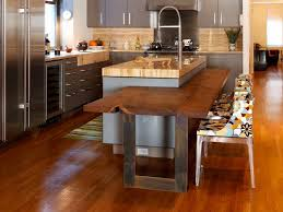 multi level kitchen island multi level kitchen island granite and wood dailyhomedecorate