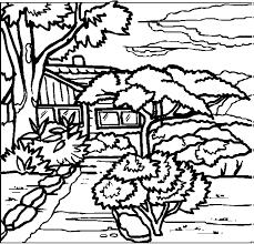 coloring pages for landscapes landscapes coloring pages picgifs com