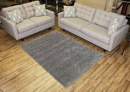 living room attractive gray shag rug for modern middle room ideas