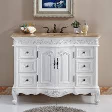 Sink Cabinet Bathroom Silkroad Exclusive Hyp 0152 T Uic 48 Ella Single Sink Cabinet