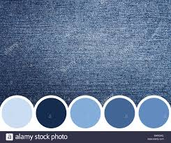 Blue Color Palette by Color Palette Of Blue Denim Jeans Stock Photo Royalty Free Image