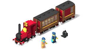 lego ideas narrow gauge steam engine