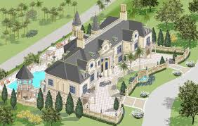 100 french chateau house plans 6000 sq ft house plans