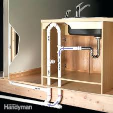 Kitchen Sink Pipe - outdoor kitchen sink drain plumbing tips for an outdoor kitchen