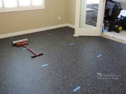 rubber floor home gym floormaven comfloor installation
