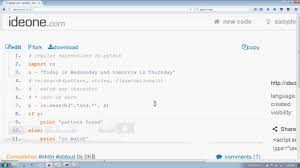 tutorial python regex python introduction to regular expression module in hindi youtube