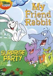 rabbit dvd my friend rabbit party on dvd
