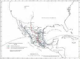Mexico Map 1821 by Map Of Mexico 1862 1867 The French Intervention