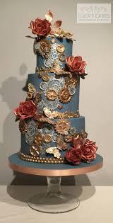 best 25 steampunk wedding cake ideas on pinterest vintage cakes