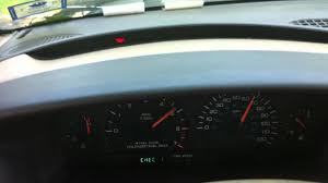 1998 chrysler town u0026 country instrument cluster test sequence