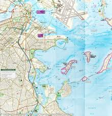 Map Of Boston by Trail Map Of Boston Harbor Islands National Recreation Area