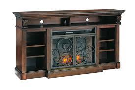 rustic tv stand with fireplace laboratorioc3masd co