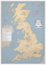 Map Of Britain Rude Britain Check Out This Beautiful New Map Of Britain U0027s Rudest