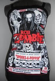 Diy Halloween T Shirts Rob Zombie Ladies Band Shirt Diy Upcycled Tank Top Horror White