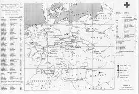 Maps Of Germany by Maps Of German World War Ii Prisoner Of War Camps