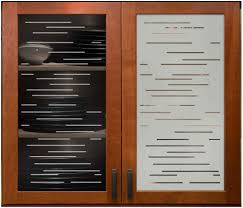 Kitchen Cabinets Glass Inserts Kitchen Etched Glass Cabinets Finer Lines Kitchen Cabinet Glass