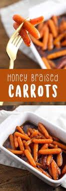 honey braised carrots eazy peazy mealz