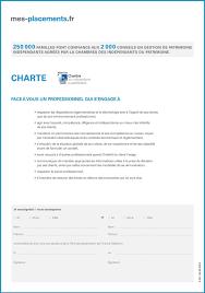 chambre des independants du patrimoine mes fcpi fr 1 exemplaire de la convention de rto pdf