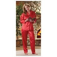 s guide gear satin pajamas 593665 at sportsman s guide