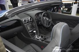 bentley v8s convertible bentley continental gt v8 s convertible interior at the 2014