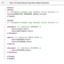 tutorial membuat web html sederhana tutorial cara membuat web statis sederhana dengan html gaswad com