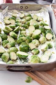 thanksgiving roasted brussels sprouts with bacon the butter half