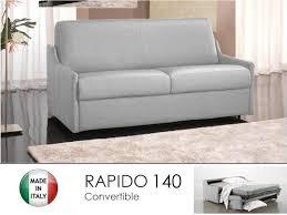 rapido canape lit canape lit 3 places convertible ouverture rapido 140cm cuir