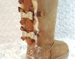 womens ugg boots bow bailey bow uggs etsy