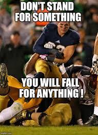 Football Player Meme - photogenic college football player meme imgflip