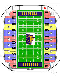 Map Of Cedar Falls Iowa Uni Dome Seating