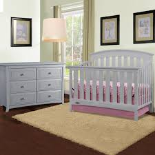 Graco Convertible Crib Bed Rail by Graco Cribs Arlington 2 Piece Nursery Set Convertible Crib And