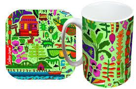 selina jayne tropical paradise limited edition designer mug and