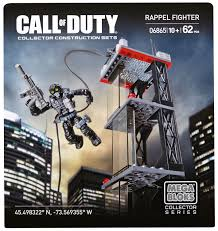 mega bloks u2013 call of duty u2013 ghosts rappel fighter 6865 walmart