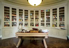 furniture varnished solid wood display bookshelves which