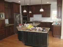 awesome black and cream kitchen ideas 4555 baytownkitchen curve shape black wooden kitchen design ideas with
