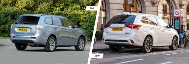 land rover mitsubishi mitsubishi outlander phev old vs new compared carwow