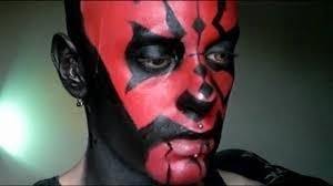 Darth Maul Halloween Costume Eraness Darth Maul Makeup Tutorial