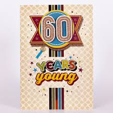 60 years birthday card signature collection birthday card 60 years 1 49 card