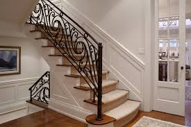 Wrought Iron Banister Modern Wrought Iron Stair Railing U2014 John Robinson House Decor