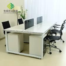 High Quality Computer Desk Desk Screen Card Staff Office Desk High Quality Tianjin Nankai