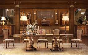italienische esszimmer luxus stilmöbel ein esstisch und sessel für ihr esszimmer